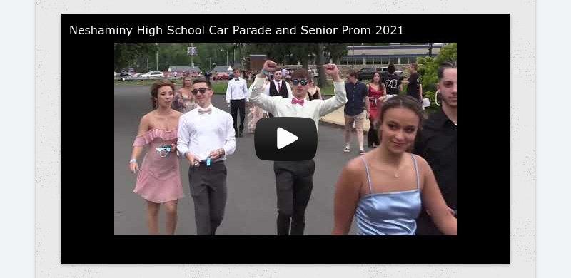 Neshaminy High School Car Parade and Senior Prom 2021