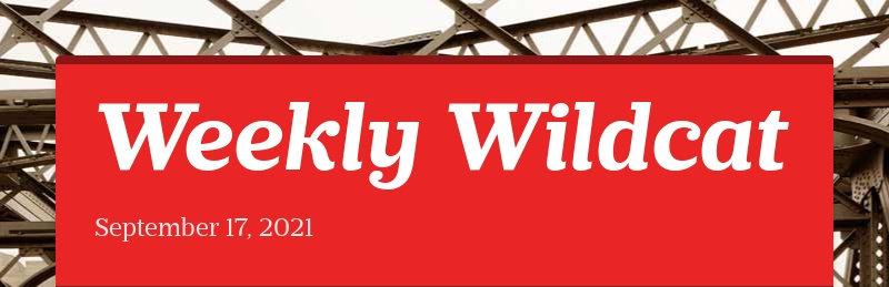 Weekly Wildcat September 17, 2021