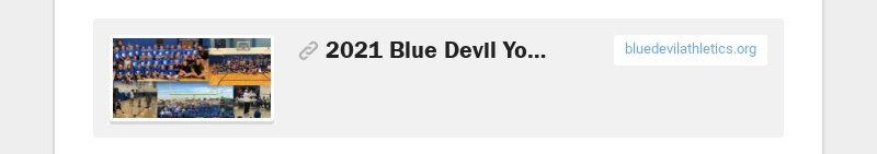 2021 Blue Devil Youth Summer Camps bluedevilathletics.org