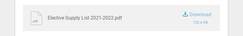 pdf Elective Supply List 2021-2022.pdf Download 152.4 KB