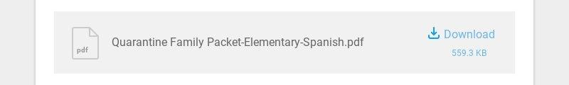 pdf Quarantine Family Packet-Elementary-Spanish.pdf Download 559.3 KB