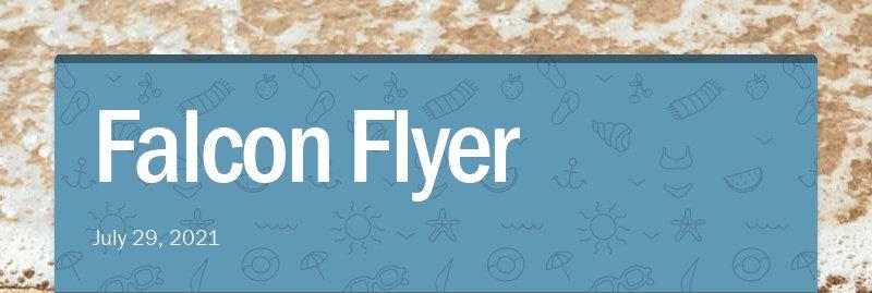 Falcon Flyer July 29, 2021