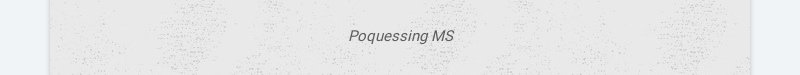 Poquessing MS