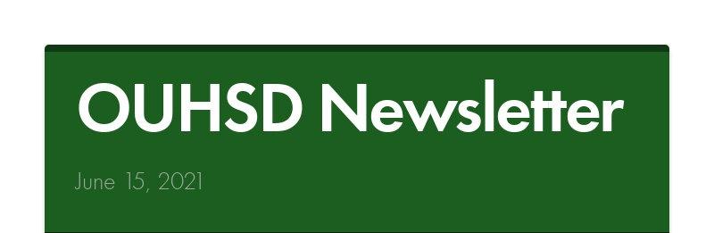 OUHSD Newsletter June 15, 2021