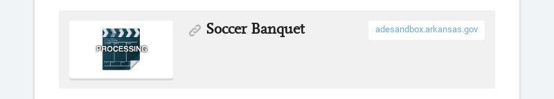 Soccer Banquet adesandbox.arkansas.gov