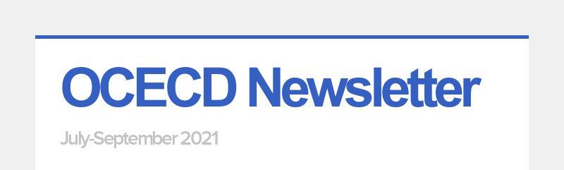 OCECD Newsletter July-September 2021