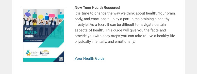 New Teen Health Resource!