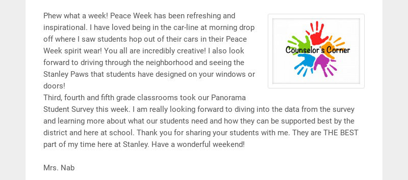 Phew what a week! Peace Week has been refreshing and inspirational. I have loved being in the...