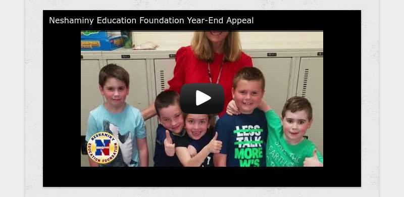Neshaminy Education Foundation Year-End Appeal