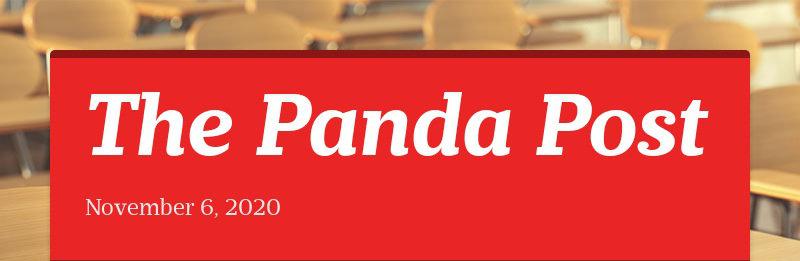 The Panda Post November 6, 2020