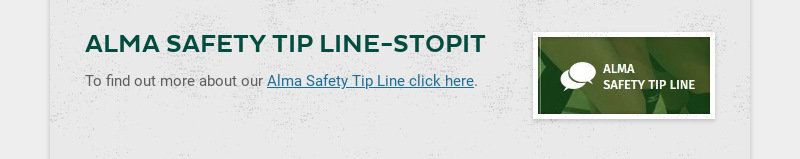 ALMA SAFETY TIP LINE-STOPIT