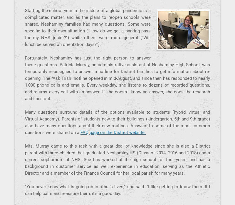 Starting the school year in the middle of a global pandemic is a complicated matter, and as the...