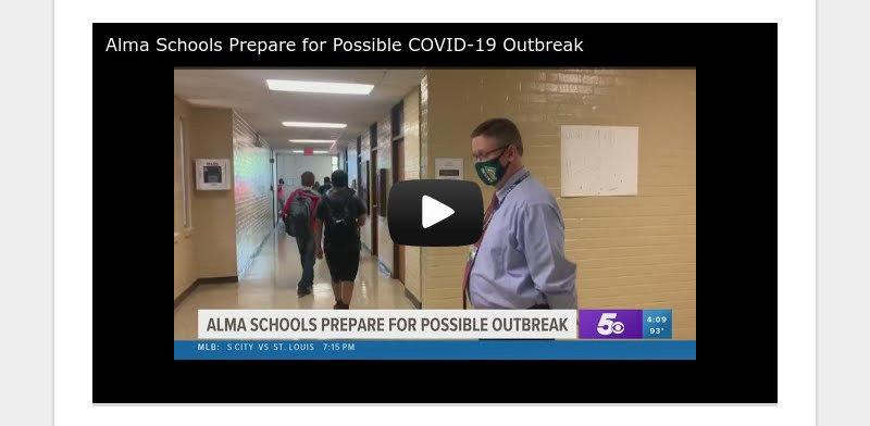 Alma Schools Prepare for Possible COVID-19 Outbreak