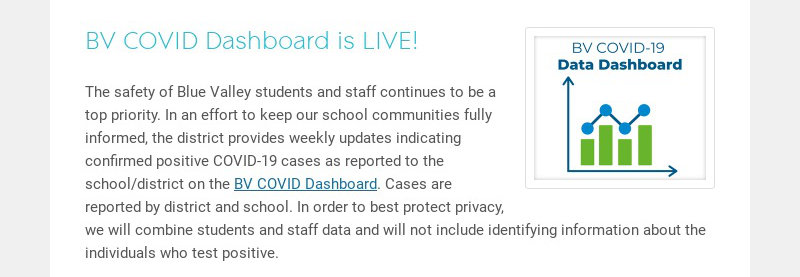 BV COVID Dashboard is LIVE!