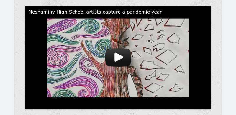 Neshaminy High School artists capture a pandemic year