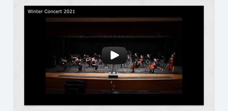 Winter Concert 2021