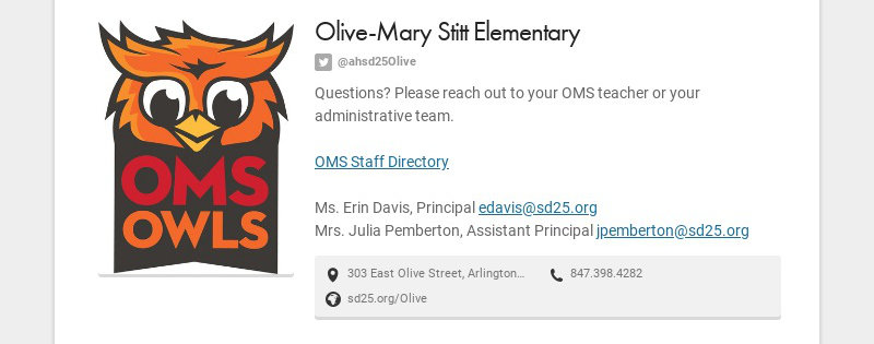 Olive-Mary Stitt Elementary