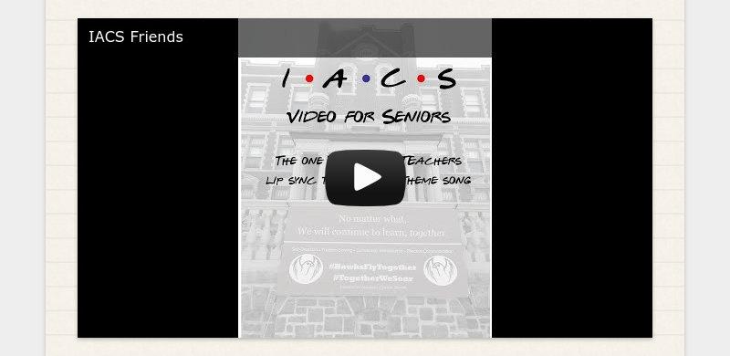 IACS Friends
