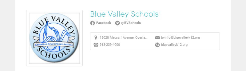 Blue Valley Schools