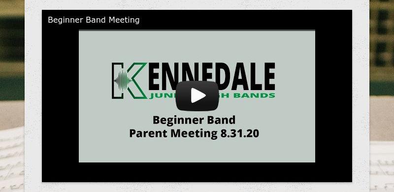 Beginner Band Meeting