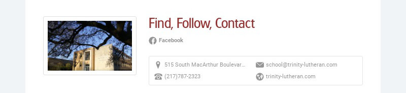 Find, Follow, Contact Facebook 515 South MacArthur Boulevard, Springfield, IL, USA...