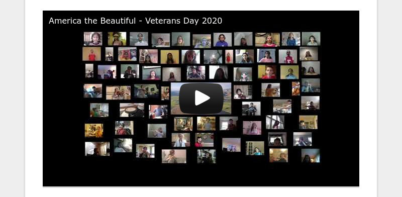 America the Beautiful - Veterans Day 2020