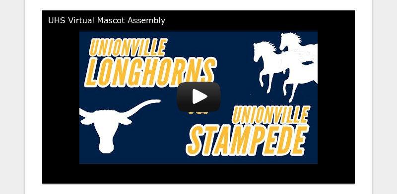 UHS Virtual Mascot Assembly