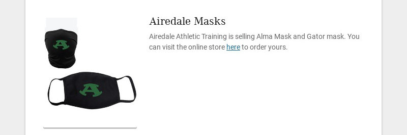 Airedale Masks