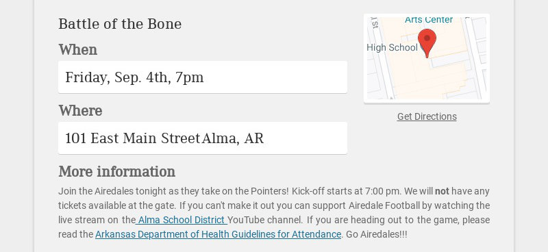 Battle of the Bone