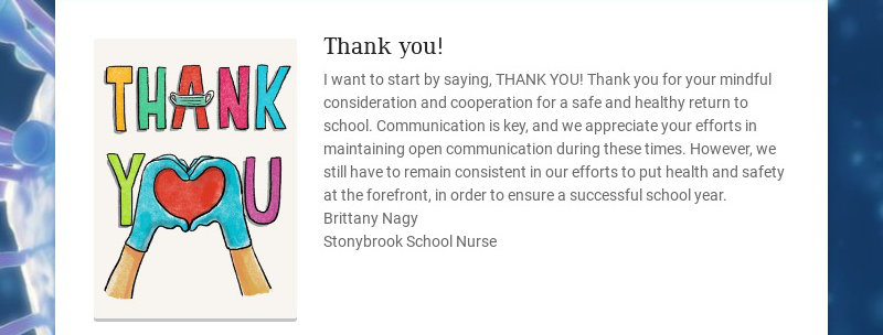 Thank you! I want to start by saying, THANK YOU! Thank you for your mindful consideration and...
