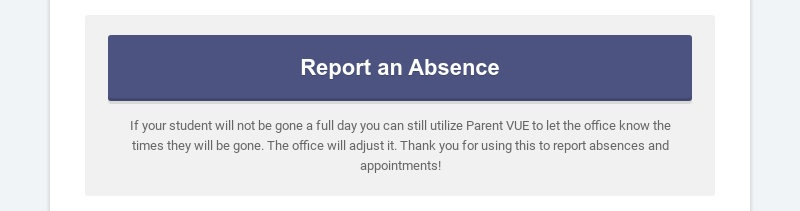 Report an Absence